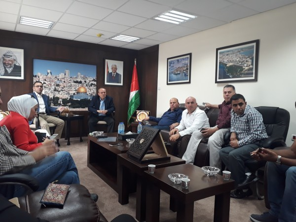 أبو بكر: القدس أولوية لدى القيادة الفلسطينية ولن نتخلى على الأسرى وعائلاتهم