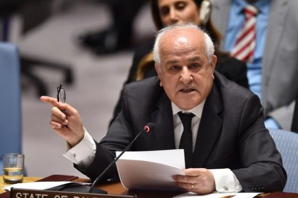 رياض منصور: فلسطين تترأس مجموعة تمثل 80% من سكان العالم