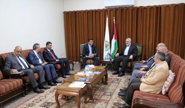شاهد: بشكل مفاجئ.. الوفد الأمني المصري يصل غزة ويلتقي قيادة حماس