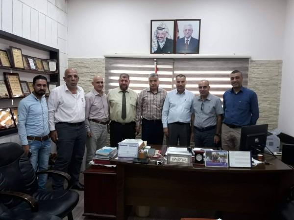 وزارة الاوقاف والخبراء العرب يوقعان اتفافية تاهيل وترميم مسجد جنين الكبير