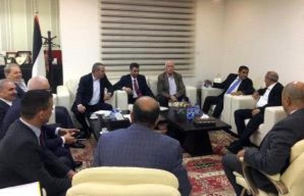 تفاصيل لقاء الوفد الأمني المصري بأعضاء مركزية فتح في رام الله