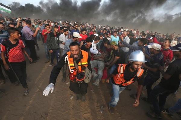 شاهد: عشرات الإصابات وقصف إسرائيلي بجمعة (غزة تنتفض والضفة تلتحم)