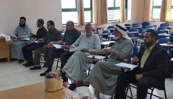 أوقاف طوباس تشارك بلجنة التحكيم القرآنية في الجامعة العربية الأمريكية