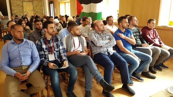 """تجمع الشباب الفلسطيني"""" ومؤسسة """"أوليف"""" يقيمان المخيم الشبابي الفلسطيني الثاني"""