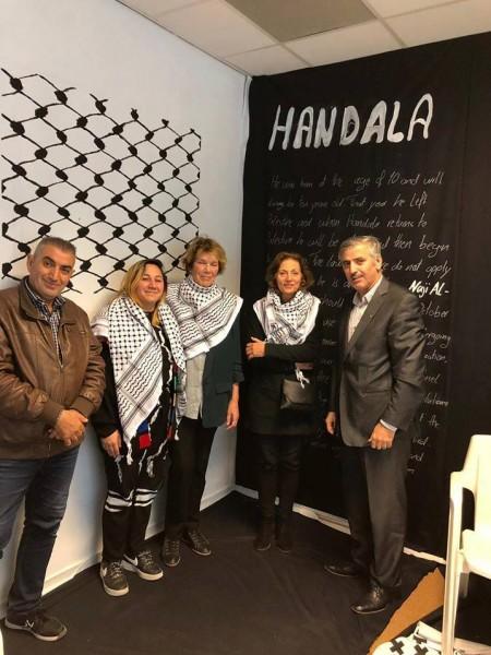 الجالية الفلسطينية في هولندا تختتم أيام أسبوع التصميم الهولندي