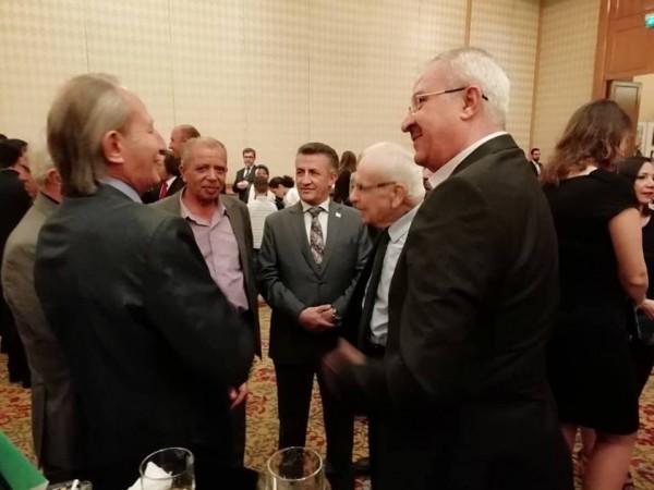 قاسم معتوق في السفارة الجزائرية بمناسبة الذكرى الـ 64 للثورة الجزائرية