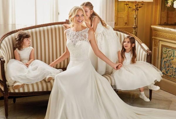 2ba3e2799c84b صور  فساتين زفاف ضيقة تناسب العروس الطويلة
