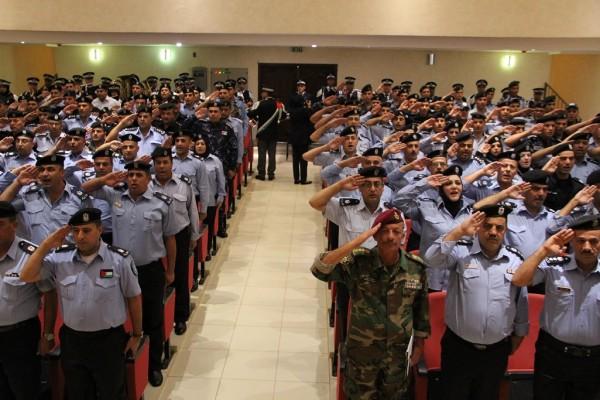 الاحتفال بتخريج دورة تأهيل ضباط الشرطة 16 في اريحا