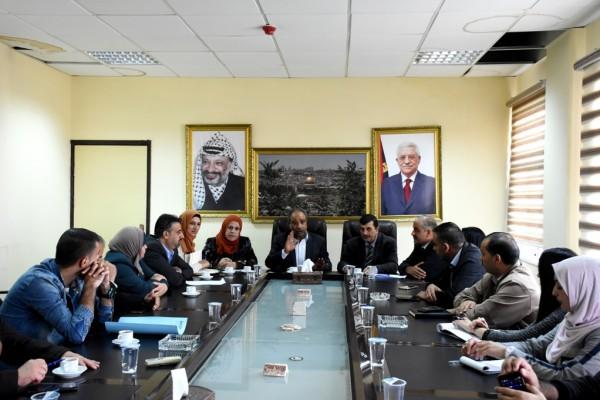 المحافظ البلوي يترأس اجتماع شبكة حماية الطفولة في محافظة سلفيت