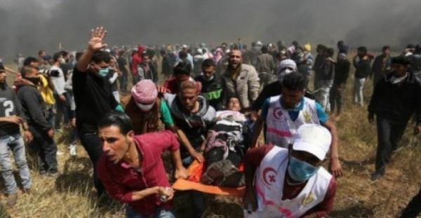 استشهاد مواطن برصاص الاحتلال شرقي دير البلح وسط القطاع