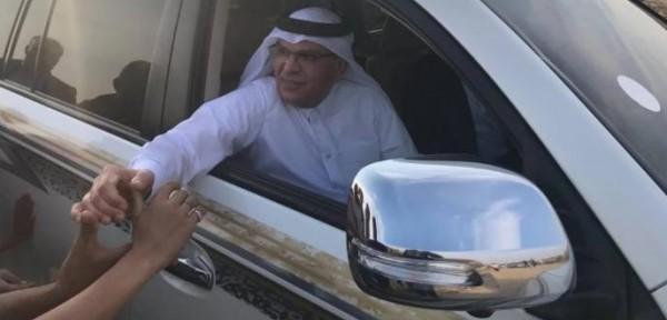 فيديو: السفير العمادي يشارك في فعاليات (المسيرة مستمرة) شرق القطاع