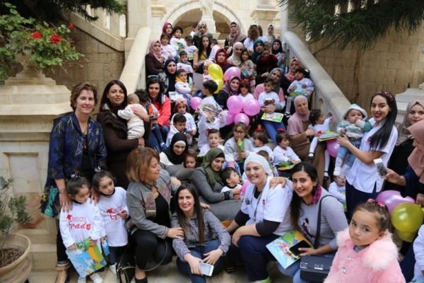 الاحتفاء باليوم العالمي للاطفال الخدج في مستشفى العائلة المقدسة في بيت لحم