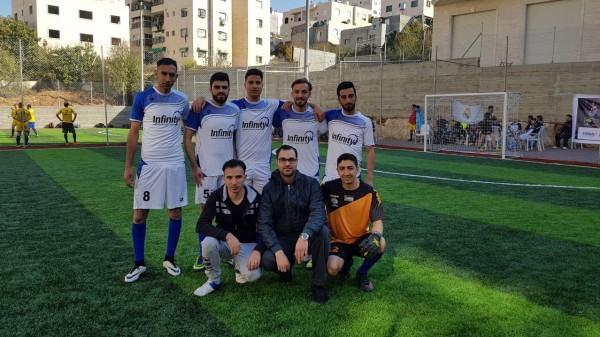 اختتام فعاليات دوري المؤسسات لكرة القدم والذي حمل اسم ياسر عرفات
