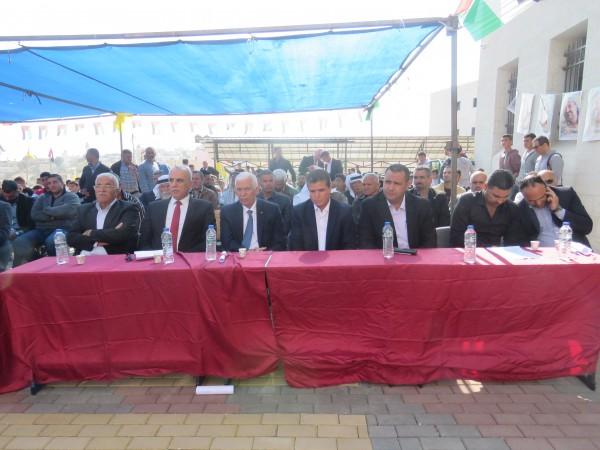تربية بيت لحم تحيي ذكرى استشهاد أبو عمار في مدرسة ذكور زعترة الثانوية