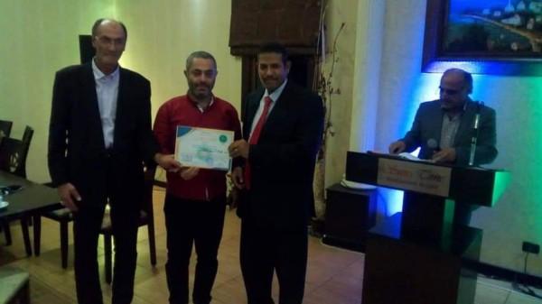 رئيس رابطة مثقفي مصر والشعوب العربية يكرم مثقفين فلسطينيين ولبنانيين في بيروت وصيدا