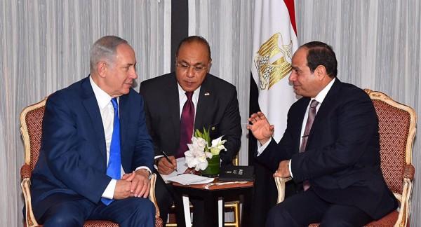 الكشف عن رسالة السيسي إلى نتنياهو للوقف الفوري للتصعيد في غزة