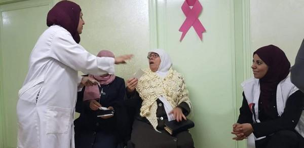 لجان العمل الصحي تنفذ يوم عمل طبي مجانيا في طوباس للنساء