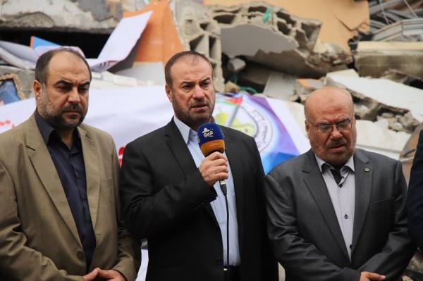 حماد: استمرار بث قناة الاقصى هو انتصار على الاحتلال وهمجيته