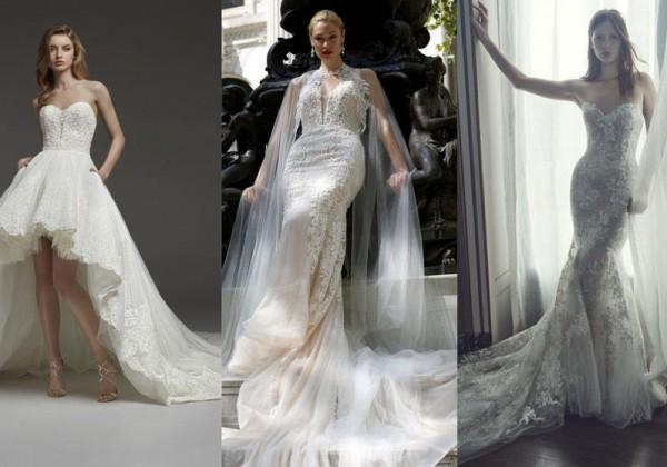 4cdc9c3c2 صور: موديلات فساتين زفاف ذيل طويل 2019 | دنيا الوطن