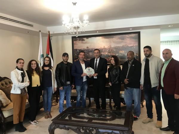 جمعية شباب البلدة القديمة بالقدس تكرم السفير الرويضي