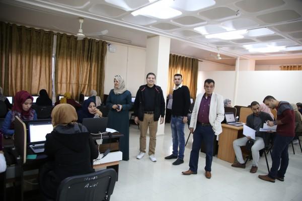 برنامج غزة يعقد امتحان القبول للمتقدمين للدراسة في برنامج الدبلوم للصحة النفسية