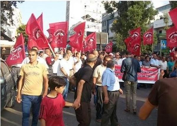 الديمقراطية تدعو لإحترام الأهداف التي من أجلها استشهد القسام وزملاؤه