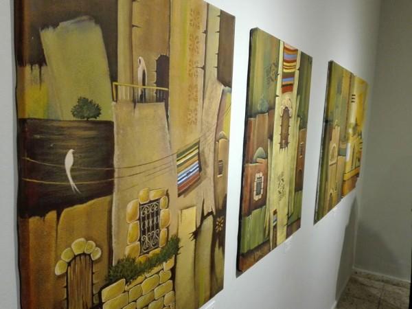 """من غزة إلى بيت لحم: معرض بعنوان """"لم تَزُل"""" للفنان محمد الحاج"""
