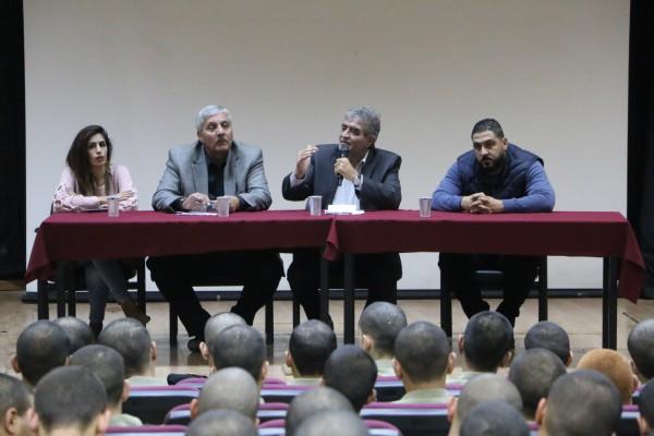 جامعة الاستقلال: حوراني يقدم محاضرة عن الهوية الوطنية الفلسطينية