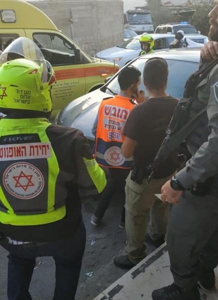"""شاهد: فيديو لعملية الطعن في """"هار جيلو"""" بمدينة القدس"""