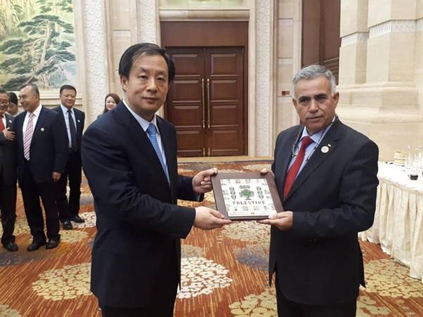 فلسطين تشارك في كونجرس المعلومات الجيومكانية الأول في الصين