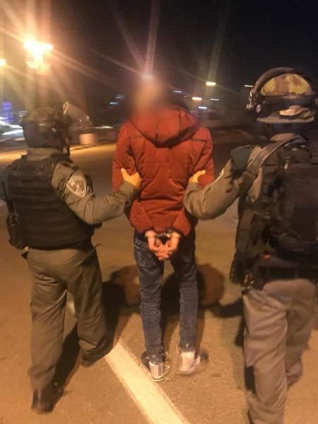 شاهد: الاحتلال يعتقل منفذ عملية الطعن في (هار جيلو) بالقدس
