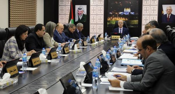 الحكومة الفلسطينية تُصادق على الاستراتيجية الوطنية لمكافحة غسل الأموال