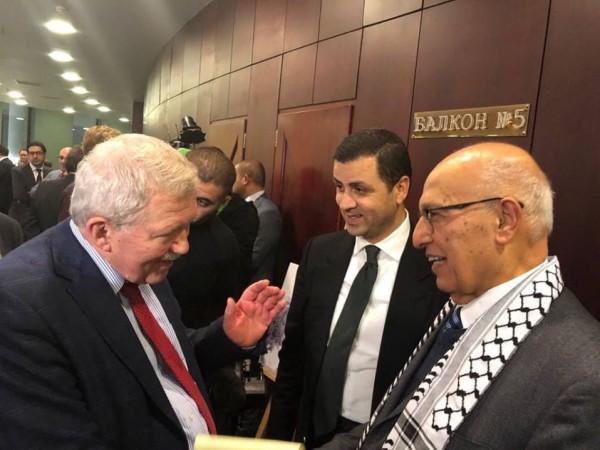 احياء اليوم العالمي للتضامن مع الشعب الفلسطيني في العاصمة الروسية موسكو