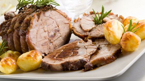 روستو اللحم الصلصة