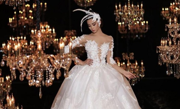a89a3f2ddcd07 صور  فساتين زفاف ستجعل منك أميرة في ليلة العمر