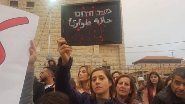 اللجنة القطرية تؤكد دعمها للاضراب النسائي العام ضد العنف وجرائم القتل
