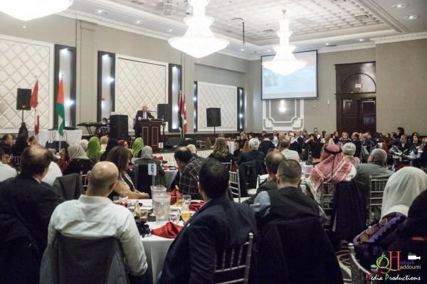 برلمانيون كنديون ودبلوماسيون عرب وأجانب يشاركون في اليوم العالمي للتضامن مع فلسطين