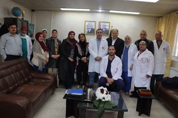 مشفى رفيديا يكرم الدكتور وليد مسعود وجمعية إغاثة اطفال فلسطين على اجراء عمليات معقدة