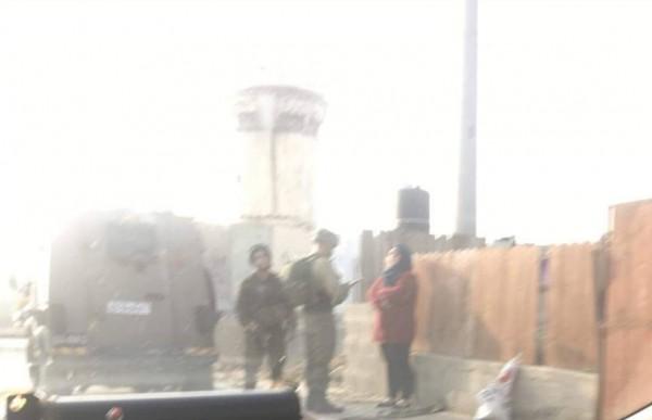 قوات الاحتلال تعتقل فتاه وتهدم ثلاث منشأت في محافظة سلفيت