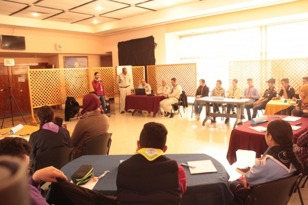 مفوضية كشافة محافظة الخليل تعقد الورشة التمهيدية الأولى لإطار عالم أفضل