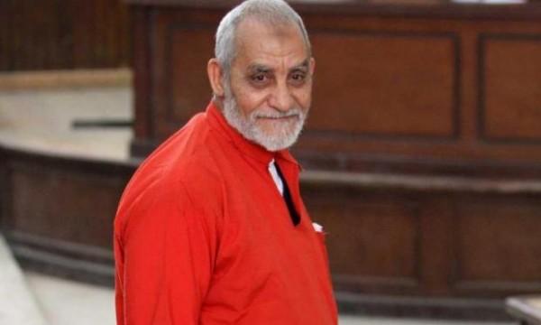 السجن المؤبد للمرشد العام لجماعة الإخوان ونائبه خيرت الشاطر