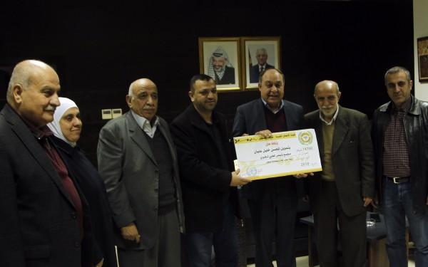 هيئة الأعمال الخيرية بنابلس تسلم كفالات بقيمة 770 ألف شيكل لصالح أيتام