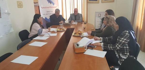 مؤسسة REFORM تبحث سبل تعزيز الولاية القانونية في محافظة القدس