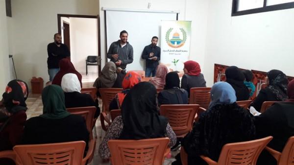 جمعية الفرقان تنظم محاضرة قانونية في مخيم عين الحلوة