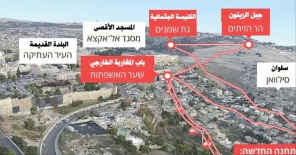 خبير يُحذر من البدء بإقامة مشروع (تلفريك) بالبلدة القديمة في القدس