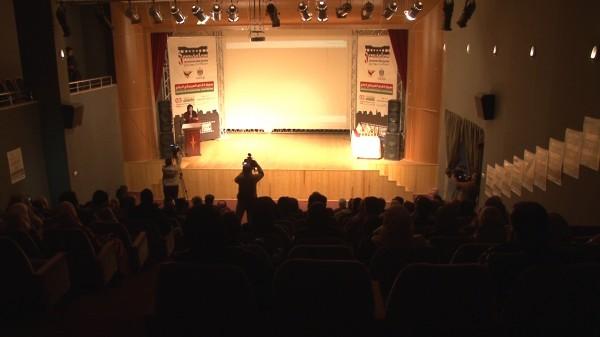 شاهد: إنطلاق مهرجان القدس السينمائي الدولي في غزة