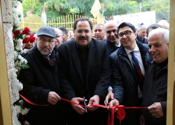 """صيدم يفتتح مدرستي السعدية وآل عمرو """"التحدي 14"""" في الخليل"""