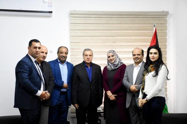 وزير الاعلام الفلسطيني يستقبل محافظ سلفيت ويبحث معه عدد من القضايا
