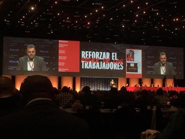 شاهر سعد نائباً لرئيس الاتحاد الدولي للنقابات