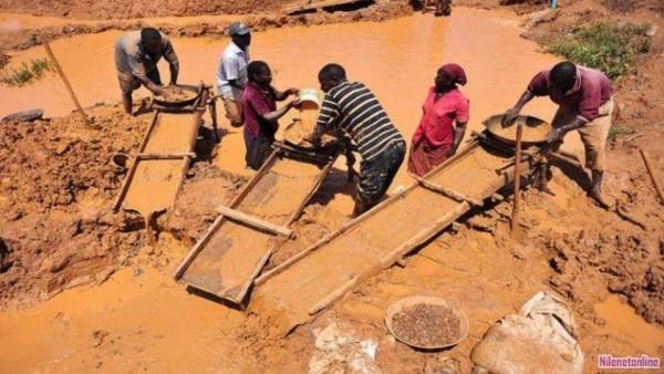 قتلى ومفقودون بانهيار منجم للذهب في السودان